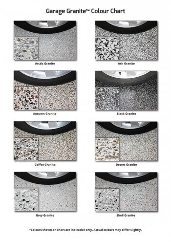 Garage Granite brochure.